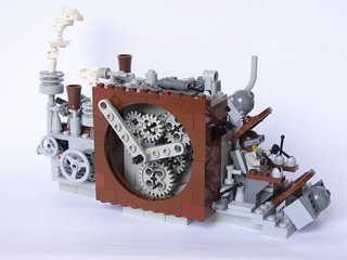 Steampunk Time Machine | by conradoplg