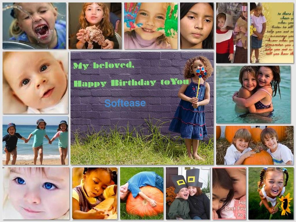 happy birthday-collage maker | My lovely baby, Happy Birthda… | Flickr