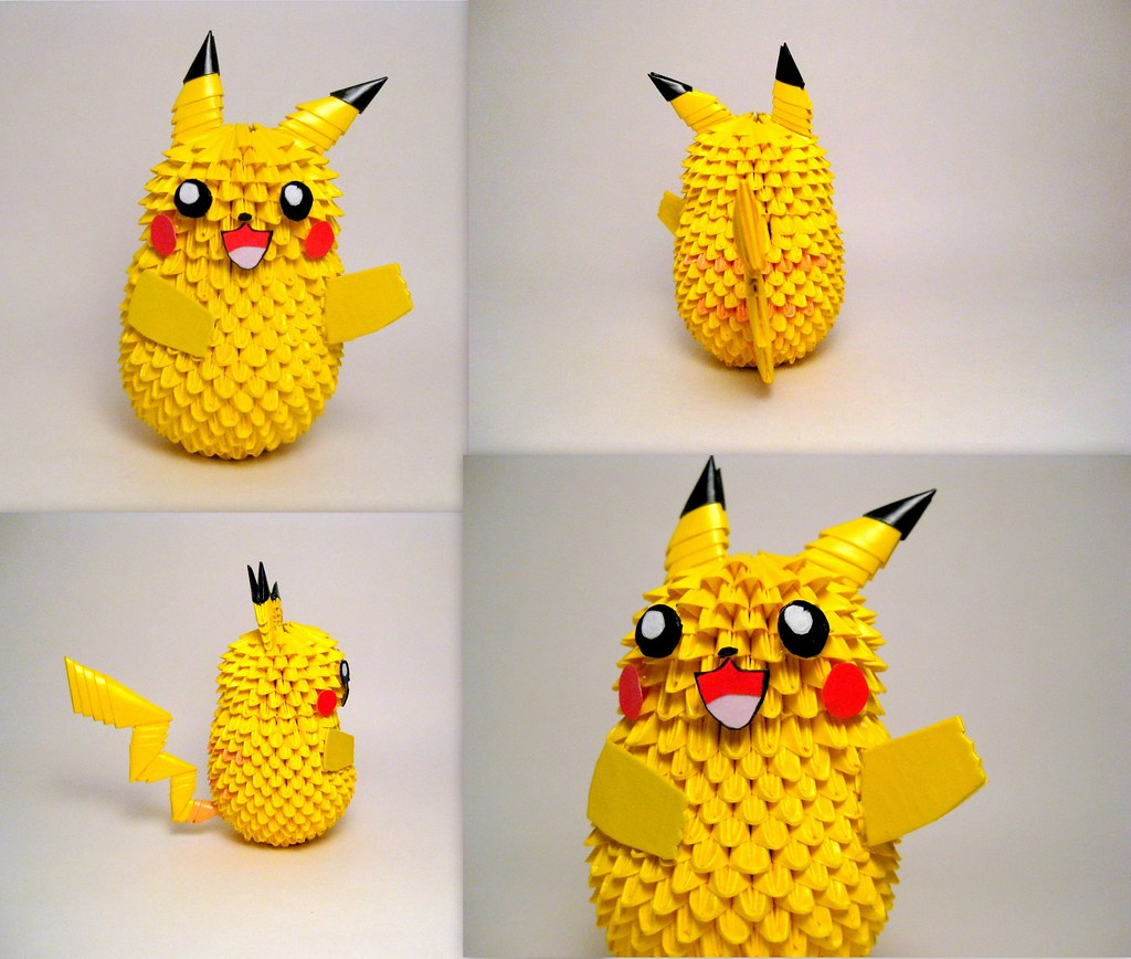 Pikachu Pokemon I Finished Commission Work For A Friend Flickr