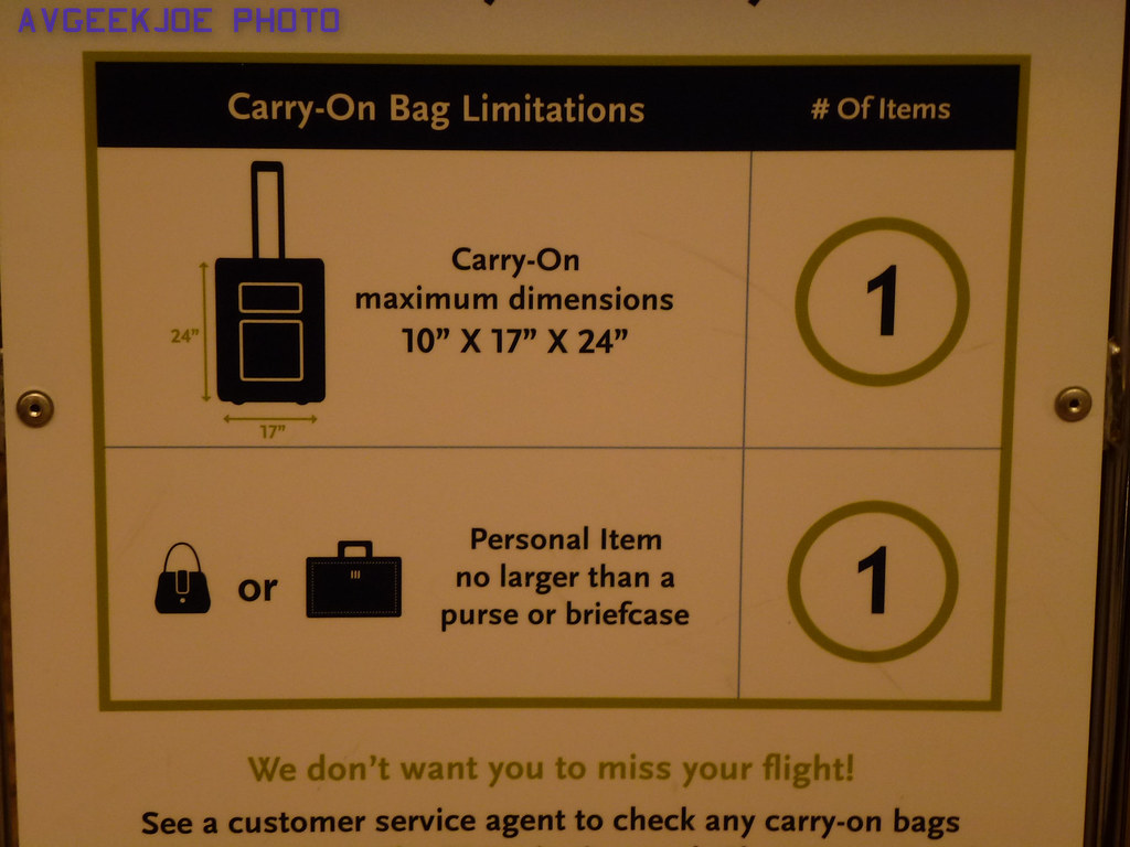 alaska airlines personal item size