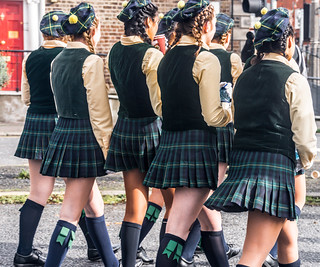 Meet Shorecrest High School Highlanders Backstage At The St. Patrick's Day Parade | by infomatique