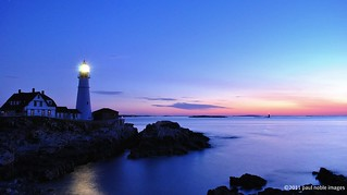 Dawn at Portland Headlight | by paul noble photography