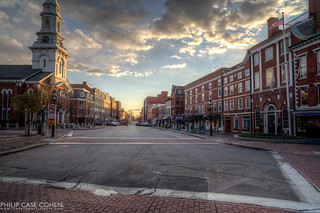 Market Square at Sunset | by Philip Case Cohen