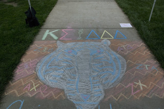 Kappa Sigma and Tri-Delt art | by Baker University