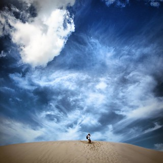 Alone against the sky | by Carlo Tancredi