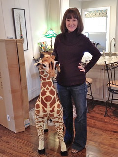 Giant Stuffed Giraffe | by It's Great To Be Home