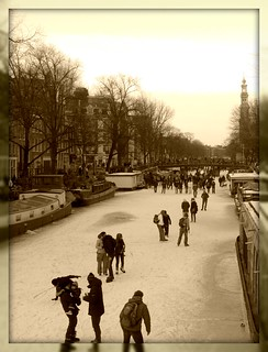 One more day of skating on the canals | by Bhakti -Amsterdam