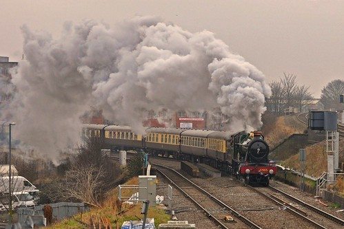 Vintage Trains excursion round Bordesley curve | by GVG Imaging
