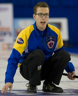 Napanee, ON Feb 12 2011 M&M Canadian Juniors Team AB Skip Brendan Bottcher. Michael Burns Photo Ltd. | by seasonofchampions