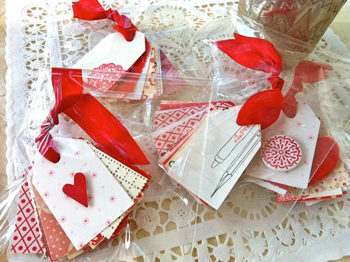 Valentine giveaway: tag bundles | by moline