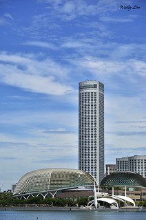 View from Marina Bay Sands | by Wesley Lim
