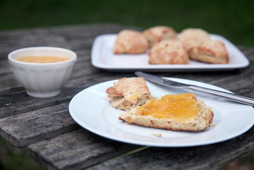 Ginger Scones with Grapefruit Curd 3 | Scottish Ginger Scone ...