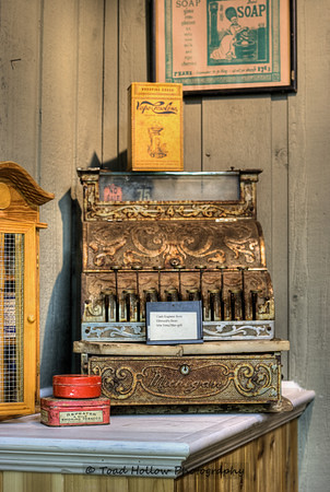 Antique Cash Register - Metchosin Pioneer Museum, Vancouver Island, BC, Canada | by Toad Hollow Photography