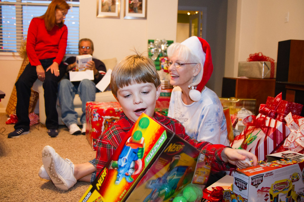 opening christmas presents 12 25 2011 54 by jdg32373