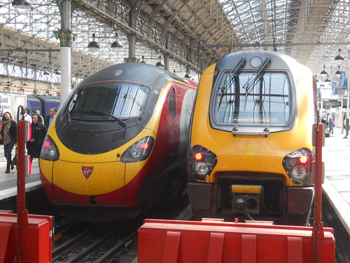 Pendolino & Voyager | by Firing up the quattro....