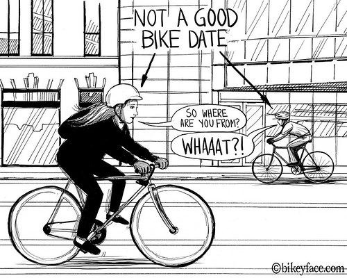 How to Date a Cyclist | by bikeyface
