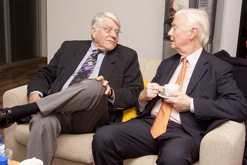 Orley Ashenfelter and James Mirrlees - Barcelona Graduate School of Economics | by Barcelona GSE