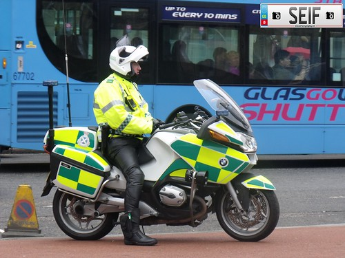 scottish ambulance services Glasgow 2011 | by seifracing