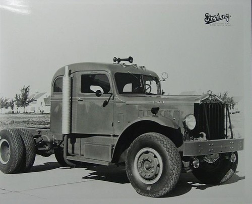 1940's Sterling Road Tractor | by gdmey