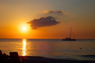 Sunset in Negril/Jamaica Jamaica
