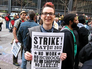 Occupy Wall Street: M17, Six Month Anniversary, St. Patrick's Day, Zuccotti Park, Strike! | by Scoboco