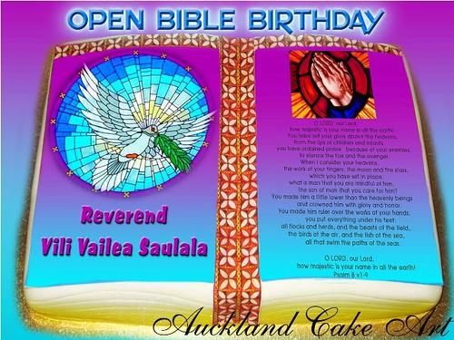 Cake Art Opening Hours : OPEN BIBLE BIRTHDAY CAKE OPEN BIBLE BIRTHDAY CAKE WITH ...
