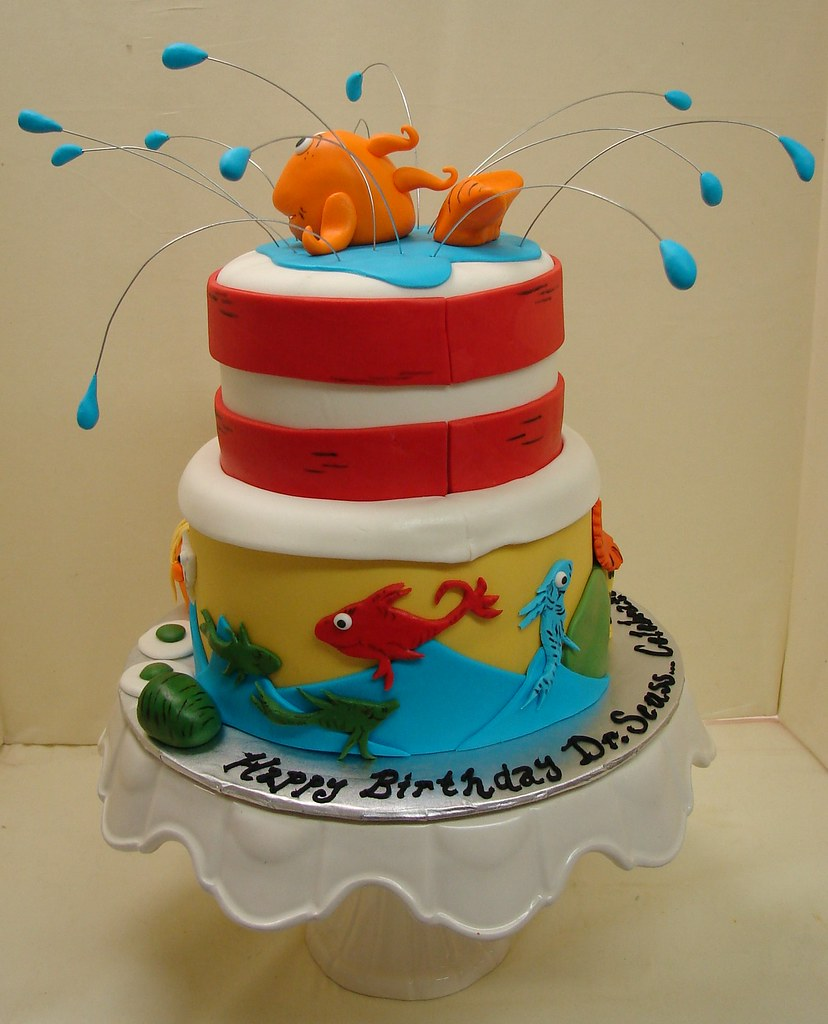 Happy Birthday Dr Seussad Across America Cake Flickr