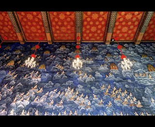 Lots of Angels | Ubosot of Wat Thewarat | Bangkok | by I Prahin | www.southeastasia-images.com