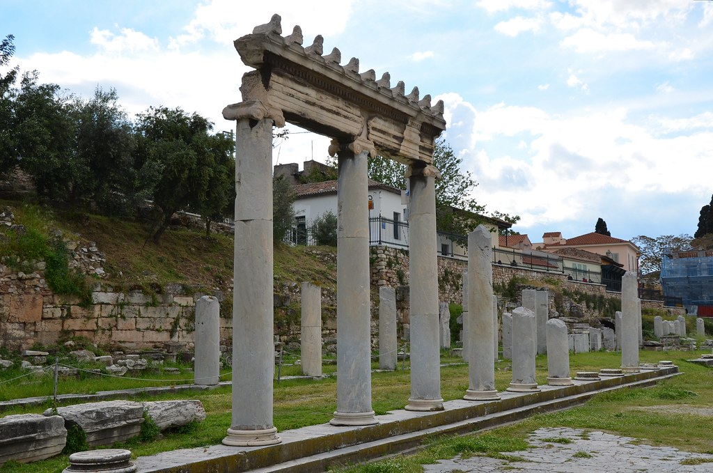 Image result for Agora: Ruins of the ancient marketplace athens
