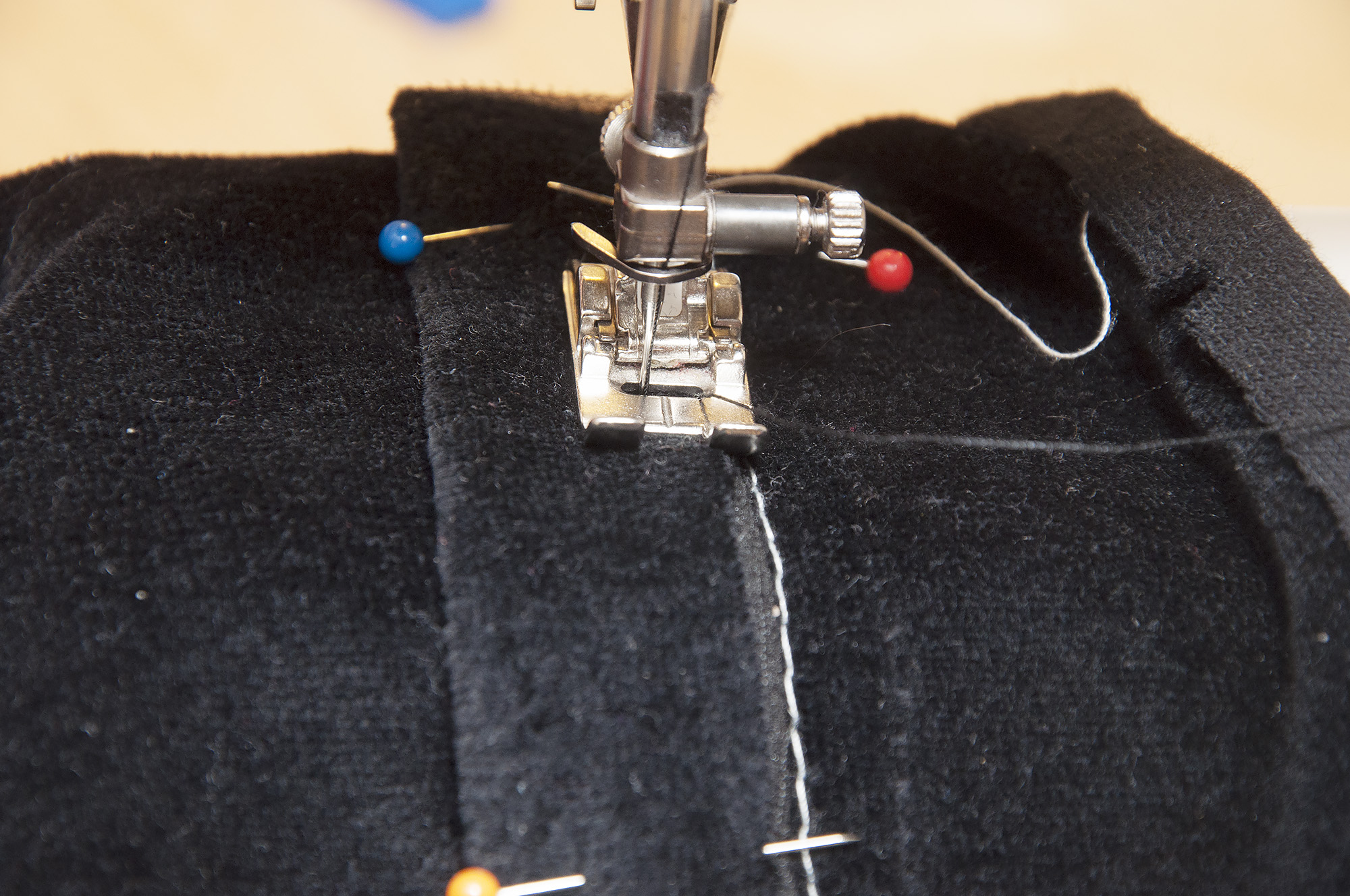 How to do welt pockets on knit fabrics