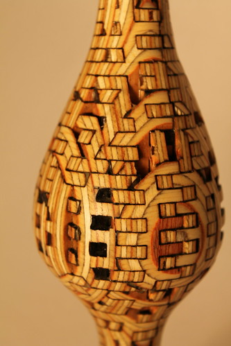 Laser Cut Bud Vase - close up | by b_light