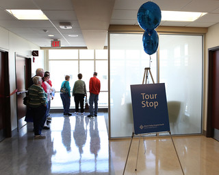 Hundreds tour new addition at MVHS | by Miami Valley Hospital - Dayton