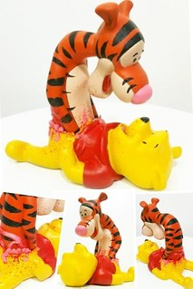 Tigger and Pooh | by Igor Gosling