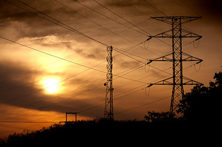 High Tension Electric Tower at dusk in the Penang countryside | by tiantan