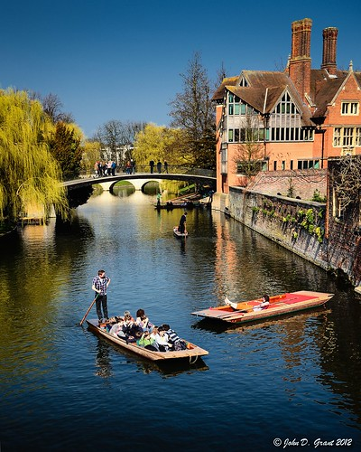 Cambridge, boat tour.... | by John D. Grant