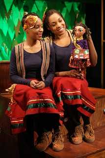 Krystle Hylton and Amanda Wright | by Little Angel Theatre