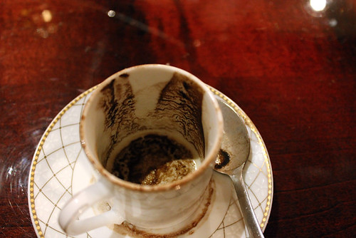 turkish coffee grounds | by jodigreen