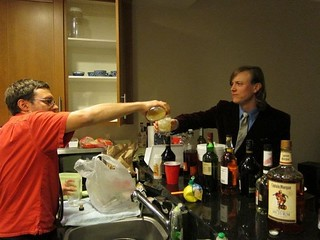 John pours me a Whiskey Sour | by justin