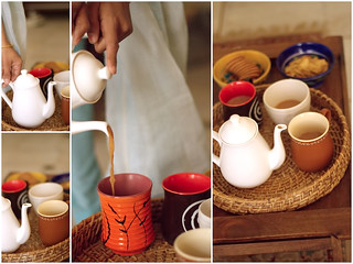 Her pots, mugs, colourful ware and polished wooden chests, trays..and more | by ~SilpaS GLH~