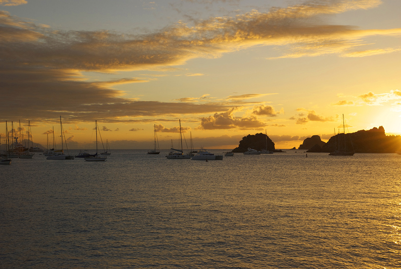 Wish You A Wonderful Day Sunset In St Barthelemy French Flickr
