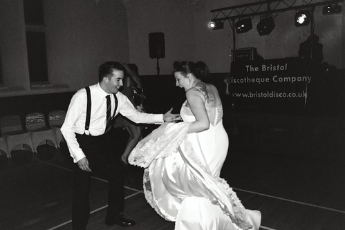 Swing dancing with the bride | by KimpyWoo