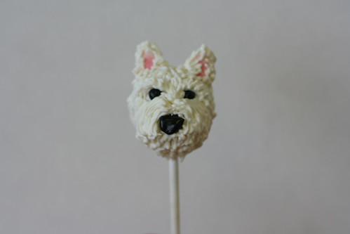 West Highland Terrier Cake Pop | by Sweet Lauren Cakes
