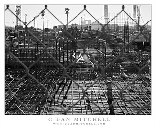 Construction Site, Cyclone Fence | by G Dan Mitchell