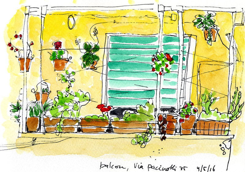 Rome balkon