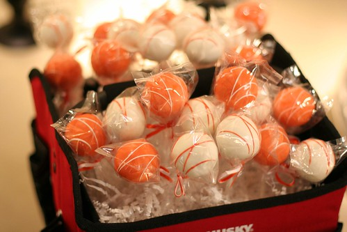 Home Depot themed Cake Pops | by Sweet Lauren Cakes