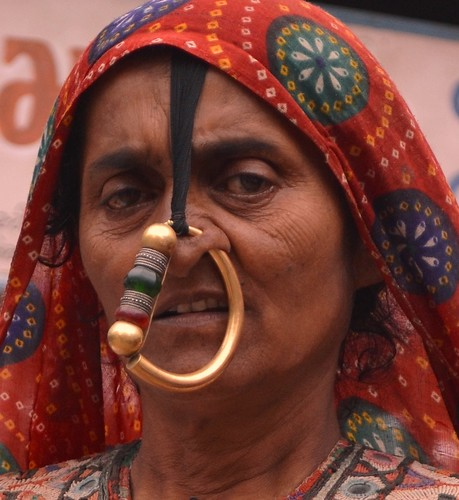 Jat Caste Woman with Nose Ring - Bhuj | by Carlo J. Roberto