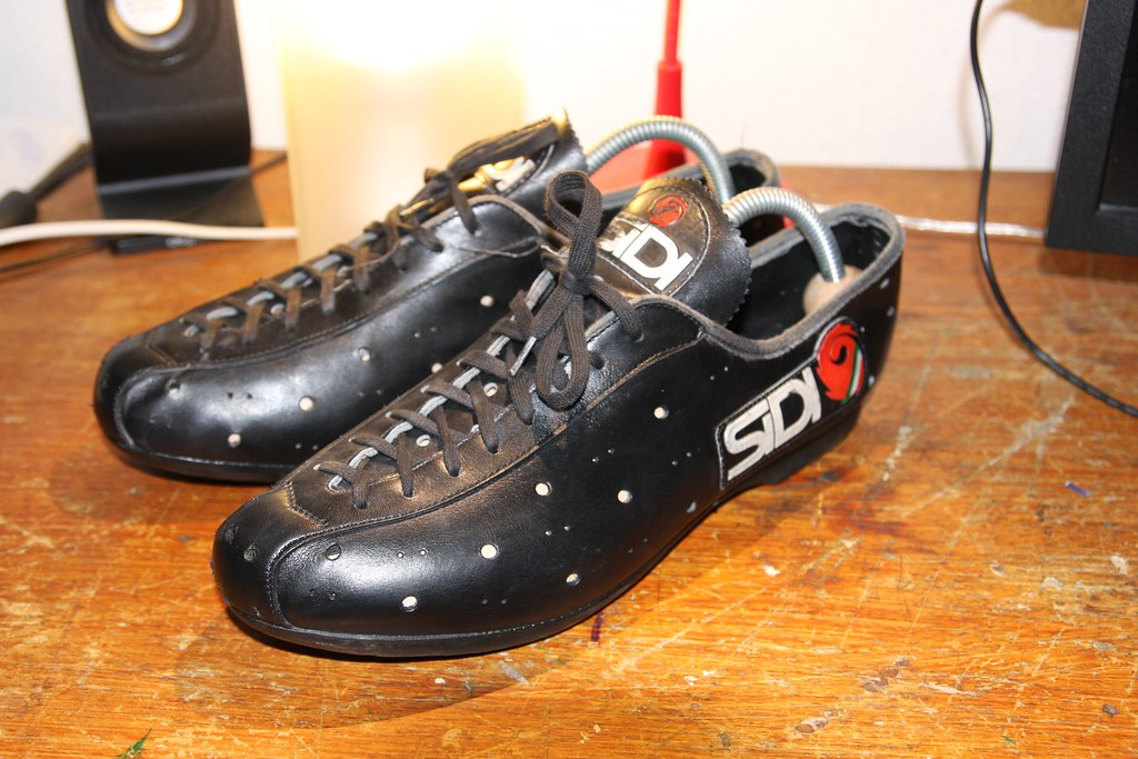 Sidi Vintage Cycling Shoes Cedric Design Flickr