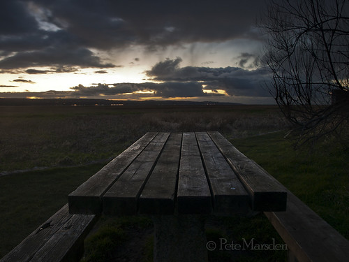 Bench at Dusk | by Pete Marsden