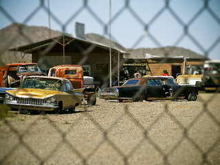 Old cars AZ HWY 71 and US 93 | by donkincl