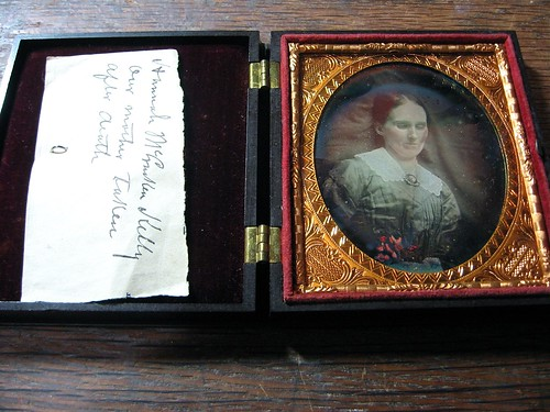 Hannah McCracken Kelly, Postmortem 1/6th-Plate Daguerreotype, Circa 1858 | by lisby1